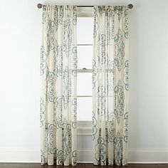 Buy Royal Velvet Ardesia Rod Pocket Sheer Panel today at jcpenneycom You deserve great deals and weve got them at jcp!