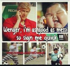Sport Humour For Today: Arsene Wenger