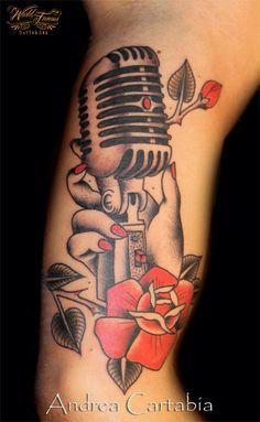 ideas about Microphone Tattoo on Pinterest | Music Tattoos Tattoos ...