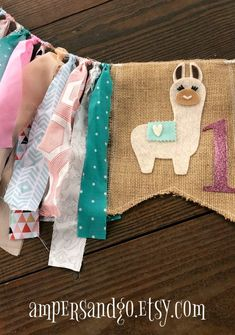 Pole And Chair Dancing Classes Product Birthday Highchair, Birthday Bunting, Baby Bunting, Fabric Bunting, Birthday Party Decorations, Chair Fabric, Chair Cushions, Birthday Ideas, Llama Birthday