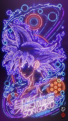 goku wallpaper iphone dragonball z . Dragon Ball Gt, Dragonball Anime, Goku Y Vegeta, Son Goku, Goku Wallpaper, Dragonball Wallpaper, Neon Wallpaper, Super Anime, Fan Art