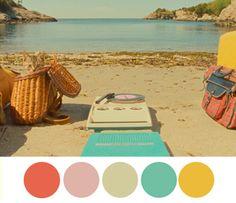 De color WES ANDERSON