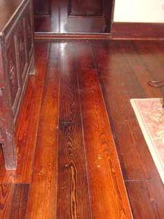 Heart Pine Floors | Prefinished Antique Heart Pine Flooring