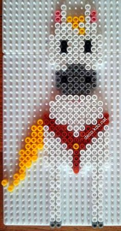 Max - Tangled hama perler beads by Deco.Kdo.Nat