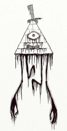 Creepy Bill Cipher Gravity Falls Drawing Tattoo Creepy Bill Cipher Gravity Falls Drawing Tattoo More from my site Bill tattoo, gravity falls, thanks for this great adventure! Cool Tattoo Drawings, Fall Drawings, Creepy Drawings, Dark Art Drawings, Creepy Art, Drawing Sketches, Drawing Ideas, Drawing Drawing, Tattoo Sketches