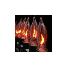 Flame Halloween Light String