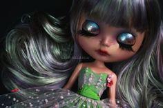 Custom Blythe doll Spumoni by bebebentley on Etsy