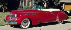 The 1940-1949 Cadillac lineup showcased important engineering and style developments. Learn about the Cadillac's evolution during this era.