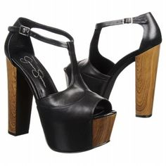 Jessica Simpson Dany Leather Platform Sandal - I wish these weren't so hard to find! Dream Shoes, Crazy Shoes, Cute Shoes, Me Too Shoes, Shoe Boots, Shoes Heels, Pumps, Jessica Simpson Shoes, Evening Shoes