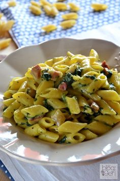 Mezze penne risottate Flonal (10)primi veloci Italian Pasta, Italian Dishes, Italian Recipes, Penne, Rigatoni, Pasta Recipes, Cooking Recipes, Healthy Recipes, Pasta Dishes
