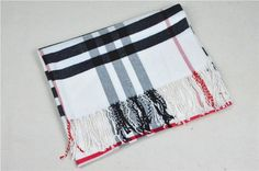 Burberry Nova Check Cashmere Large Scarf NIB long fringe 180 X 70 cm Cheap Burberry, Long Fringes, Large Scarf, Scarf Styles, Cheer Skirts, Fashion Scarves, Cashmere, Stuff To Buy, Tassels