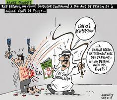 #JeSuisRaif #JeSuisRaifBadawi #JeSuisCharlie   Une caricature de Garnotte via @LeDevoir http://www.ledevoir.com/galeries-photos/les-caricatures-de-garnotte/183796…