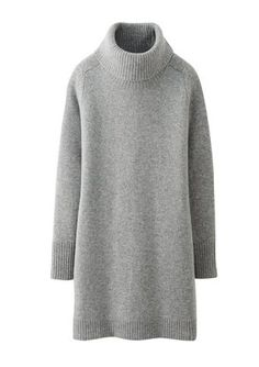 The perfect sweater dress, from Uniqlo