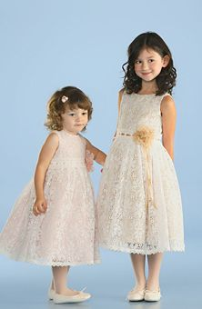More lace flower girl dresses