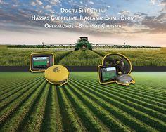 TOPCON Hassas Tarım Sistemleri Fuar Tanıtım Görseli / TOPCON Precision Agriculture Precision Agriculture, New Technology, Graphic Design, Future Tech, Visual Communication