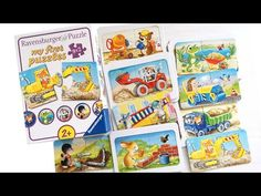 "Ravensburger Puzzle ""Tierische Baustelle"" 9x2 Teile Kinderpuzzle, Animals at a construction for kids - YouTube Ravensburger Puzzle, Puzzles Für Kinder, Construction For Kids, Baseball Cards, Youtube, Animals, Animales, Animaux, Animal"