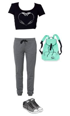 Untitled #260 by alicat137 on Polyvore featuring polyvore, fashion, style, Only Play and Converse