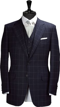 Custom Suits Bespoke Suits Fitted Suits in New York Suit Fashion, Mens Fashion, Fitted Suits, Style Masculin, Bespoke Suit, Elegant Man, Custom Suits, Dapper Men, Suit And Tie