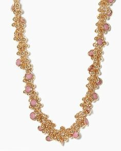 Shop for cocktail party jewelry like this necklace that's as elegant as it is fun. Clusters of tiny metal bubble beads and colorful enamel rounds combine on a swishy, positively effervescent necklace.