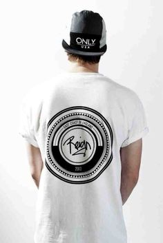 Black & White. Street. Style. Youth. Fresh. Skate. Reign. England. Only. USA. Circle. Branded. Rolled Up. Fashion. Men. Hip.