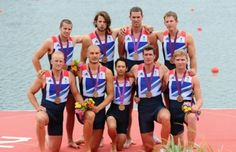Constantine Louloudis, Alex Partridge, James Foad, Tom Ransley, Ric Egington, Mo Sbihi, Greg Searle, Matt Langridge and cox Phelan Hill win bronze for #TeamGB! #Olympics