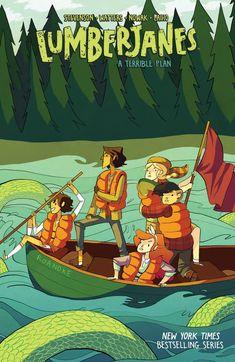 Preview: Lumberjanes Vol. 3 TP, Story: Noelle Stevenson, Shannon Watters & Faith Erin Hicks Art: Carolyn Nowak & Various Cover: Noelle Stevenson Publisher: BOOM! Studios/B...,  #All-Comic #All-ComicPreviews #BOOM!Box #Boom!Studios #CarolynNowak #Comics #FaithErinHicks #Lumberjanes #NoelleStevenson #previews #ShannonWatters