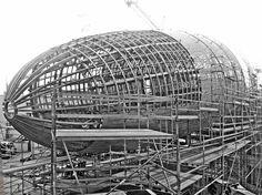 Zeppelin, Ferris Wheel, Fair Grounds, Architecture, Travel, Arquitetura, Viajes, Trips, Tourism