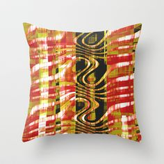 African colors Throw Pillow by LoRo  Art & Pictures - $20.00