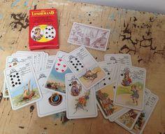 SOLD Vintage tarot cards: Jeu Lenormand by karmolijntje on Etsy SOLD