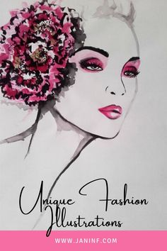 Beautiful fashionillustrations by Janin F.  All originals, available now.  #fashionillustration #illustration #fashion #fashiondrawing #originals #beautiful #female #woman #pink #ink #fashionpainting #painting Metallica, Illustration Fashion, Fashion Painting, Acrylic Colors, Margarita, Woman, Female, The Originals, Unique