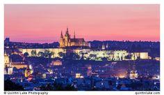 Prague Castle at Dusk, Czech Republic Photo: Quintin Lake