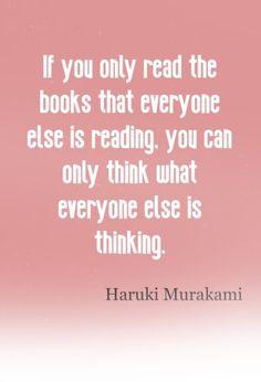 HURUKI MURAKAMI T SHIRT AUTHOR BOOKS BOOK BIRTHDAY GIFT PRESENT