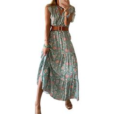 Cheap Summer Dresses, Flower Skirt, Clothing Sites, Plus Size Maxi Dresses, Plus Size Blouses, Floral Prints, Two Piece Skirt Set, Clothes For Women, Shoulder Length