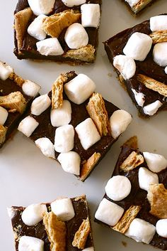 S'mores Bars as favors at your country wedding