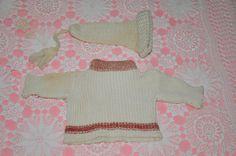 Antique Steiff sweater & cap set by bebesandbruins on Etsy