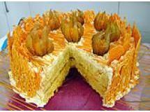 bolo trufado de laranja' Isamara Amancio