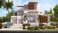 Mola Ave Fort Lauderdale Fort Lauderdale, Modern Architecture, Mansions, House Styles, Ideas, Home Decor, Mansion Houses, Room Decor, Modernism