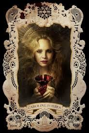 Candice Accola as Caroline Forbes TVD The Vampire Diaries Season 4 Serie Vampire Diaries, Vampire Diaries Poster, Vampire Diaries Seasons, Vampire Diaries The Originals, Caroline Forbes, Elizabeth Forbes, Damon Salvatore, Candice Accola, Paul Wesley