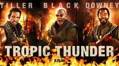 Film Tropic Thunder - Ben Stiller dan Robert Downey Jr. Bikin Ketawa, Mblo! di TransTV Malam Ini