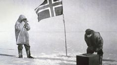 """On December 14, 1911, Norwegian Roald Amundsen became the first person to reach the South Pole and secured his place in history as one of the great explorers.  Exploration infuses everything we do at Viking River Cruises and so we celebrate this accomplishment of courage, determination and careful planning. Join us on an exciting journey through history — on the centenary of Amundsen's expedition — with this 10-minute film, narrated by Viking's own Karine Hagen.  """"Victory awaits him, who has…"""