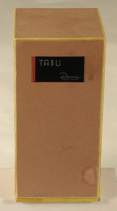 Tabu Dana Paris France Perfume Parfum Bottle and Original Box