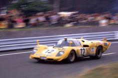 Ferrari 512S (de Fierlandt/Walker) Le Mans 1970
