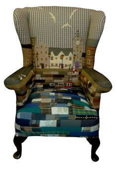 I love the reupholsterd chairs made by Rustique Interiors https://www.facebook.com/RustiqueInteriors?fref=ts Harbour No 3 made by Rustique Interiors