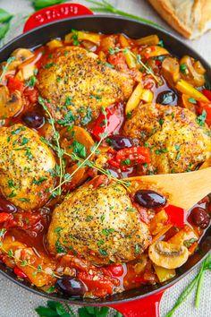 Recipe: Chicken Cacciatore - The Yarn