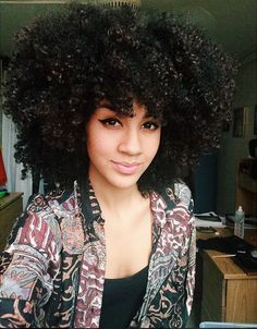Dope Fro @alannanicolex - http://community.blackhairinformation.com/hairstyle-gallery/natural-hairstyles/dope-fro-alannanicolex/