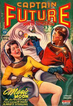 Captain Future - man of tomorrow