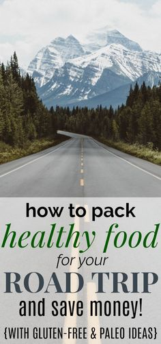 Ultimate Guide to Healthy Road Trip Food How to Pack Healthy Food for Your Road Trip and Save Money!<br> Use this list to pack healthy food for your next road trip, even if you're a gluten-free and paleo eater, and save a lot of money as well! Road Trip Snacks, Road Trip Packing, Road Trip Essentials, Packing Tips For Travel, Road Trip Meals, Travel Ideas, Travel Hacks, Travel Guide, Travel Inspiration