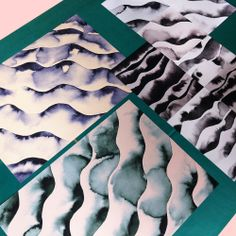 New artworks by Kristina Krogh www.kkrogh.dk/product/wawes
