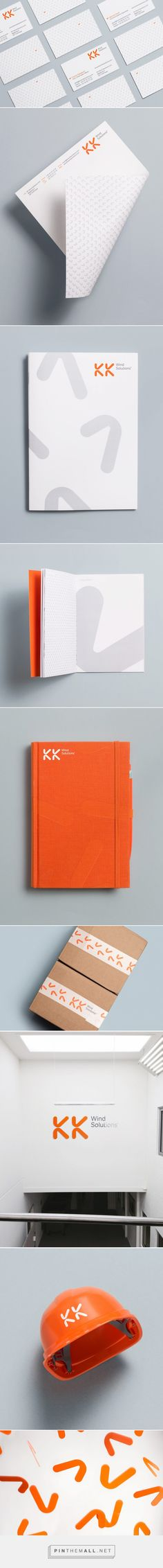 Brand New: New Logo and Identity for KK Wind Solutions by Heydays... - a grouped images picture - Pin Them All