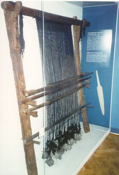 ww loom at the National Museum of Denmark, Copenhagen
